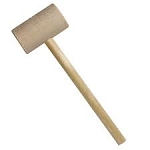 Wooden Crab Mallets